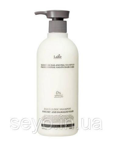 Увлажняющий шампунь для волос La'dor Moisture Balancing Shampoo, 530 мл