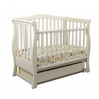 Детская кроватка «VIVA» premium белая тм Ласка