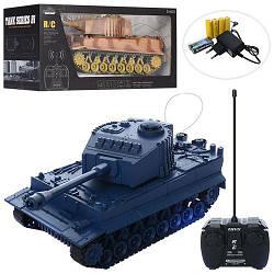 Іграшковий Танк на радіокеруванні світлові і звукові ефекти XJ18-A