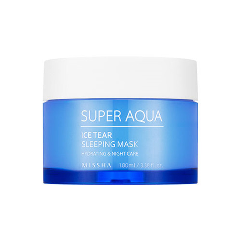 Ночная маска для лица Missha Super Aqua Ice Tear Sleeping Mask