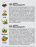 """Семена огурца """"Без хлопот"""" F1 (0,5 г) от Agromaksi seeds, фото 2"""