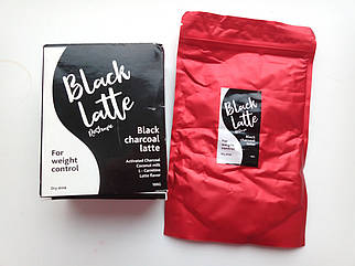 Кофе Black Latte - Угольный Латте для похудения (Блек Латте), Худейте без диет и тренажерного зала