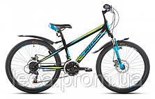 """Подростковый горный велосипед 24"""" Intenzo Energy 11"""" (18"""" скоростей) рама: 11"""", 13"""""""