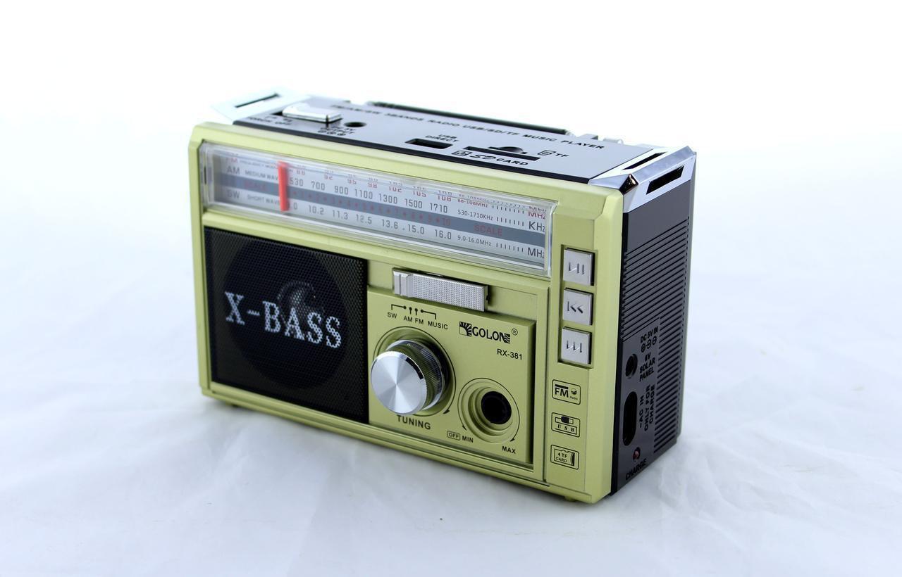 Радиоприемник GOLON RX-382
