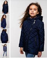 Удлиненная детская весенняя куртка