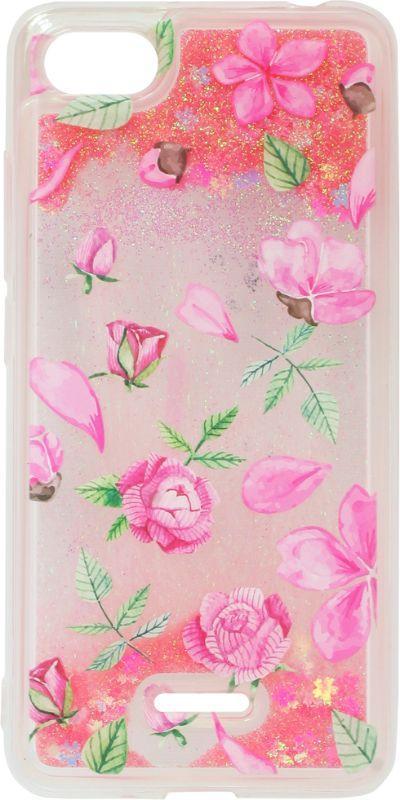 Накладка Xiaomi Redmi6A pink Roses аквариум