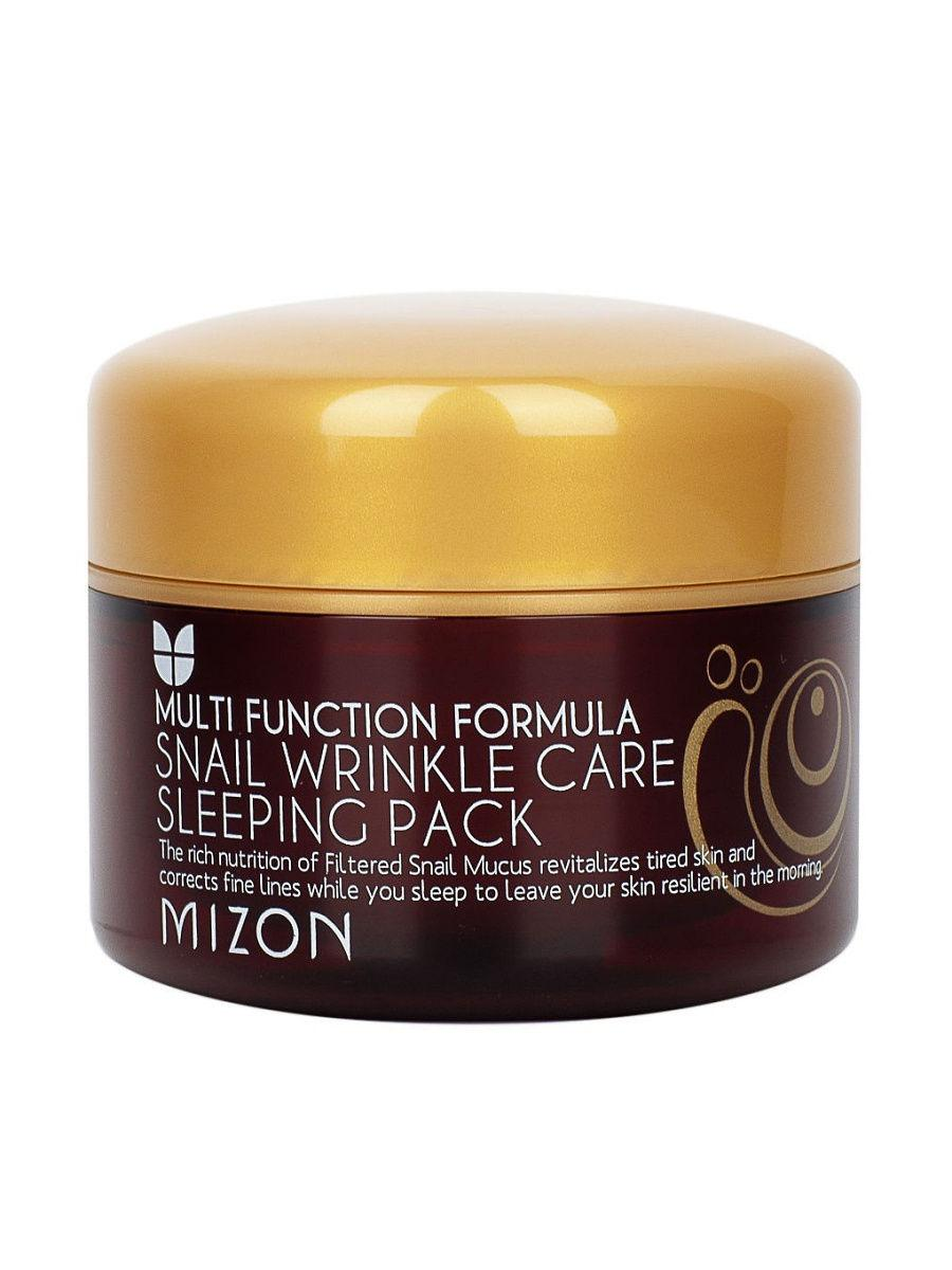 Відновлююча нічна маска для обличчя Mizon Snail Wrinkle Care Sleeping Pack 80 мл