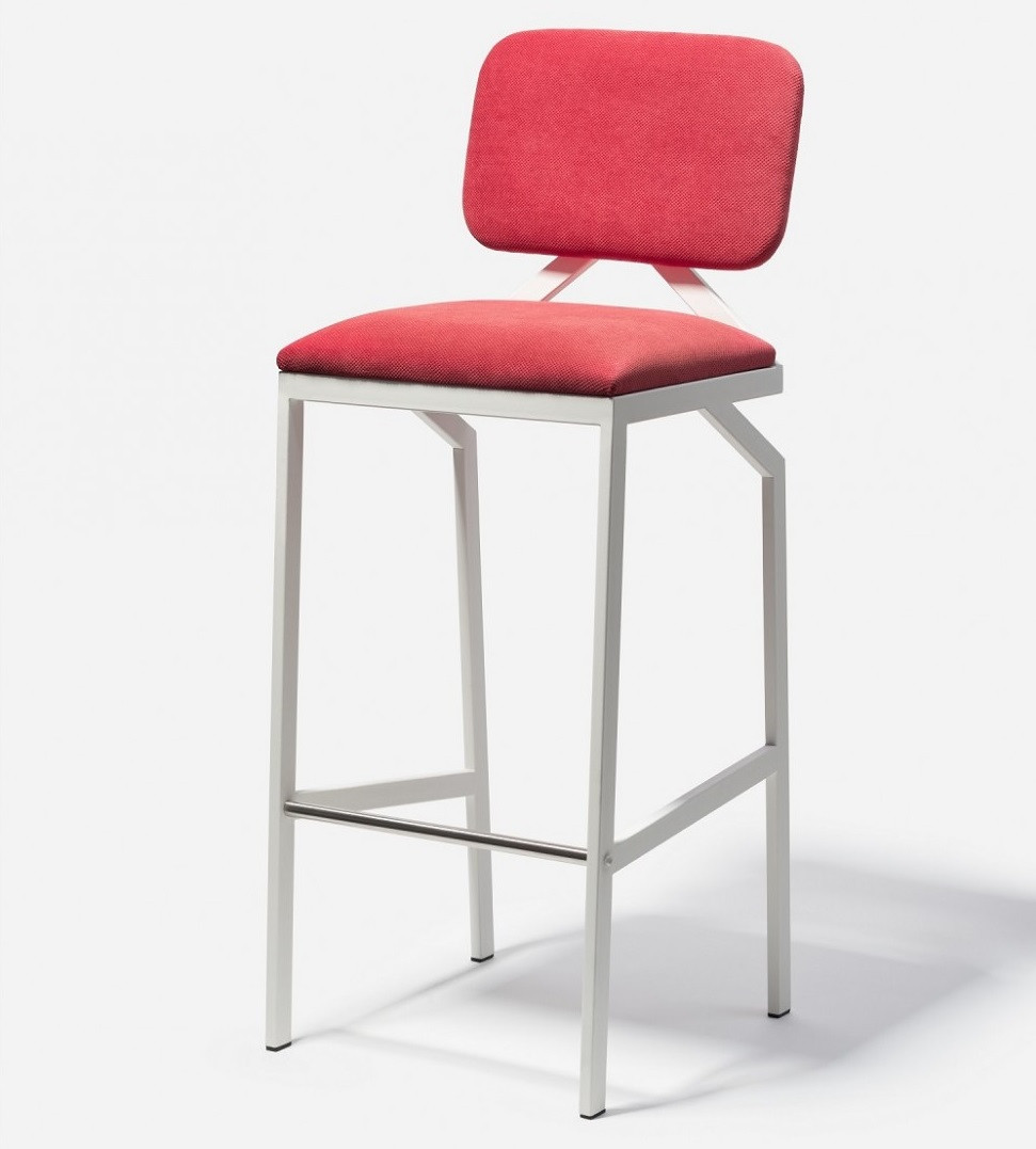 Дизайнерский барный стул Way Red TM Esense