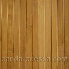 В пределах отрезка 0,5 м.п. / Бамбуковые обои темные, п,17мм, высота рулона 0,9 м