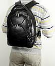 Большой кожаный рюкзак FC-0418-L1 бренда FRANCO CESARE, фото 10