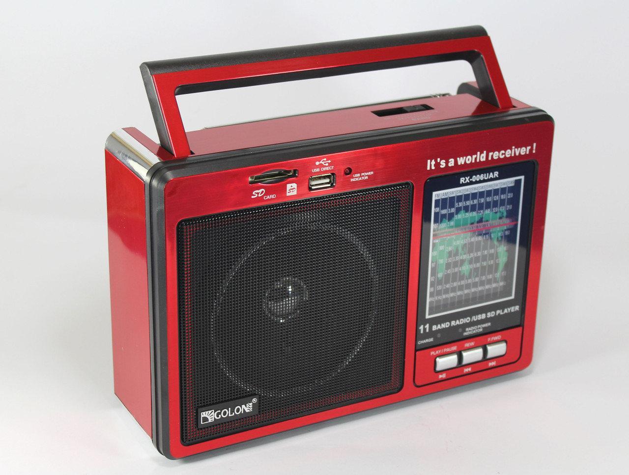 Радиоприемник  GOLON RX 006 UAR
