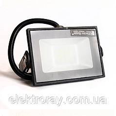 Прожектор светодиодный 10W 900lm IP65 ElectroHouse холодный белый