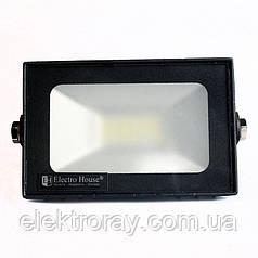 Прожектор светодиодный 20W 1800lm IP65 ElectroHouse холодный белый