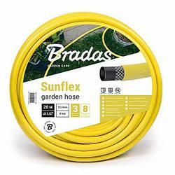 """Поливочный шланг SUNFLEX 1/2"""" (12.5 мм) 50м WMC1/250 Bradas"""