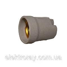 Патрон керамический без планки E27 ElectroHouse