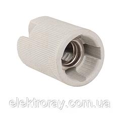 Патрон керамический E14 без планки ElectroHouse