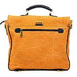 Портфель чоловічий мікс тканини канвас і шкіри RY-1282-4lx TARWA, фото 3