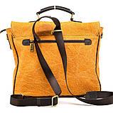 Портфель чоловічий мікс тканини канвас і шкіри RY-1282-4lx TARWA, фото 5