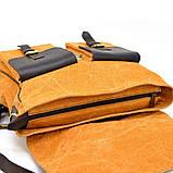 Портфель чоловічий мікс тканини канвас і шкіри RY-1282-4lx TARWA, фото 8