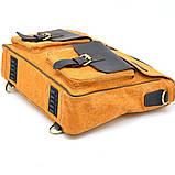Портфель чоловічий мікс тканини канвас і шкіри RY-1282-4lx TARWA, фото 10