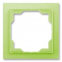 Рамка 1-я зелено-ледяной ABB Elektro-Praha Neo