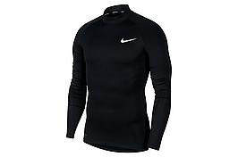 Термобелье мужское Nike Top Tight LS Mock BV5592-010 Черный