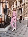 Ангоровый брючный женский костюм с кофтой 60kos287, фото 4