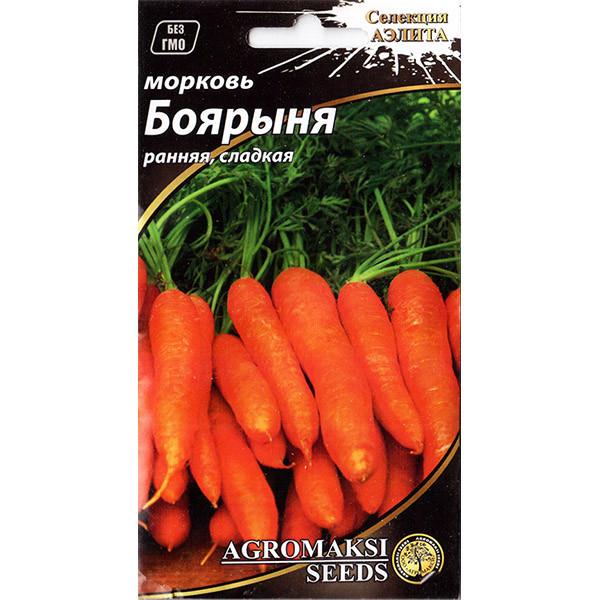 "Семена моркови ""Боярыня"" (3 г) от Agromaksi seeds"