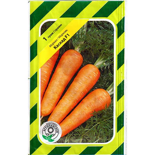"""Насіння моркви """"Каскад"""" F1 (1 р) від Bejo"""