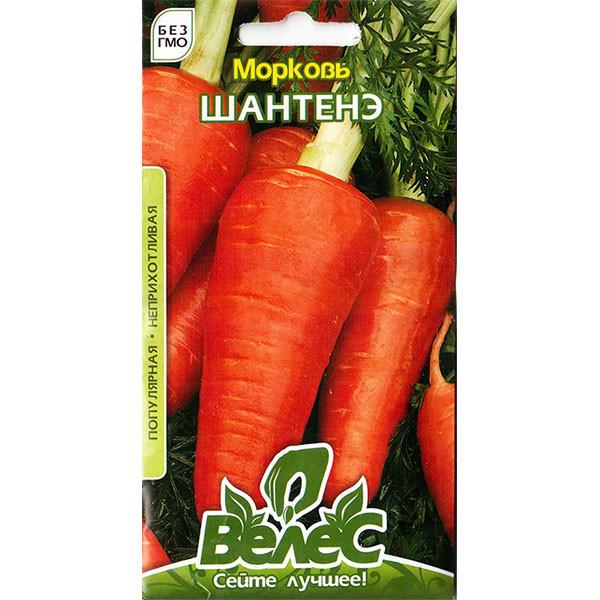 """Семена моркови """"Шантенэ"""" (3 г) от ТМ """"Велес"""""""