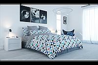 Комплект постельного белья Ранфорс «Мозаика» ТЕП - Двуспальный
