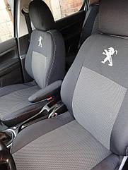 Авточехлы Peugeot 301 Sedan с 2012 г (цельный диван)