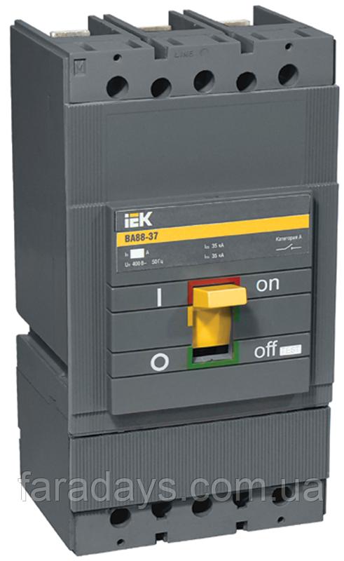 Автоматичний вимикач 3р, 400A, Im = 10In, 35кА (ВА88-37 IEK)