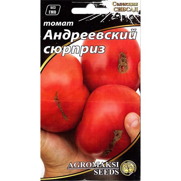 "Семена томата ""Андреевский сюрприз"" (0,1 г) от Agromaksi seeds"