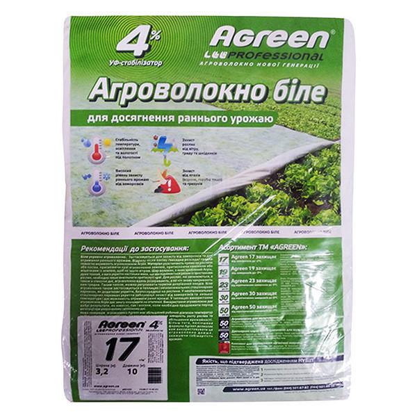 Агроволокно Agreen, 17 г/м2, размер - 3,2*10 м (32 м2)