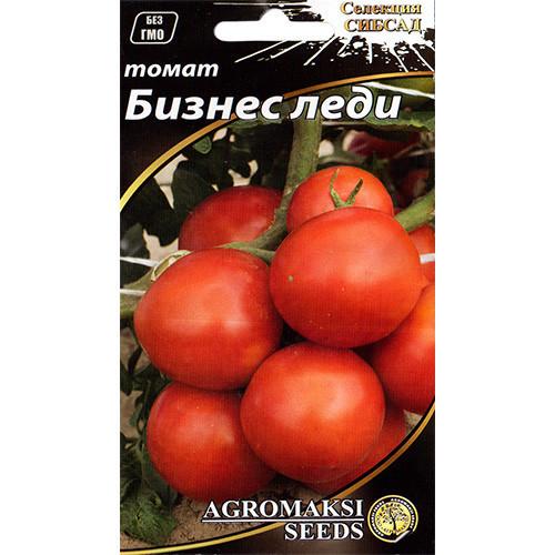 """Семена томата """"Бизнес леди"""" (0,1 г) от Agromaksi seeds"""