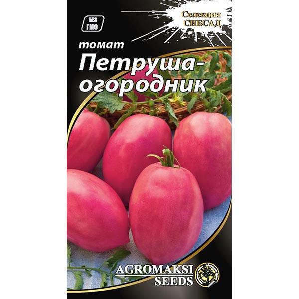 """Насіння томату """"Петрушка-огородник"""" (0,1 г) від Agromaksi seeds"""
