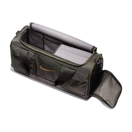 Сумка Nike Vapor Power Training Duffel Bag Small BA5543-355 Темно-зеленый (193151310170), фото 2