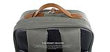 Бизнес рюкзак тканевый для мужчин K-1002gr Y-Master, фото 5
