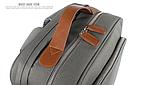 Бизнес рюкзак тканевый для мужчин K-1002gr Y-Master, фото 9