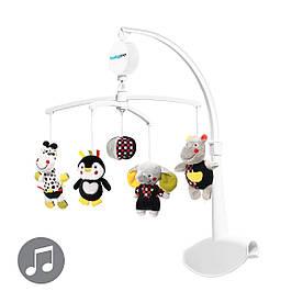 Музыкальный мобиль-каруселька для кроватки Веселая компания BabyOno