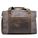 Дорожная комбинированая сумка Canvas и Crazy Horse RG-3032-4lx бренда TARWA, фото 2