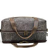 Дорожная комбинированая сумка Canvas и Crazy Horse RG-3032-4lx бренда TARWA, фото 5