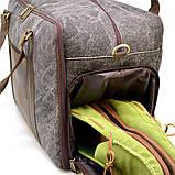 Дорожная комбинированая сумка Canvas и Crazy Horse RG-3032-4lx бренда TARWA, фото 8