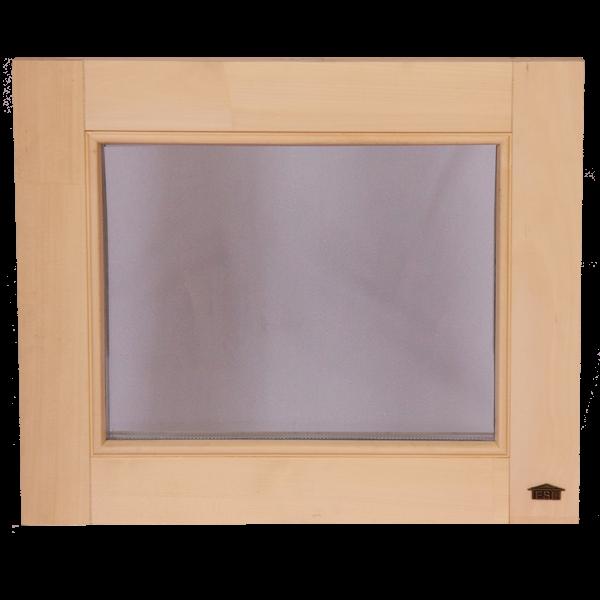 """Окна для бани и сауны Tesli """"глухое"""" 600 х 500"""