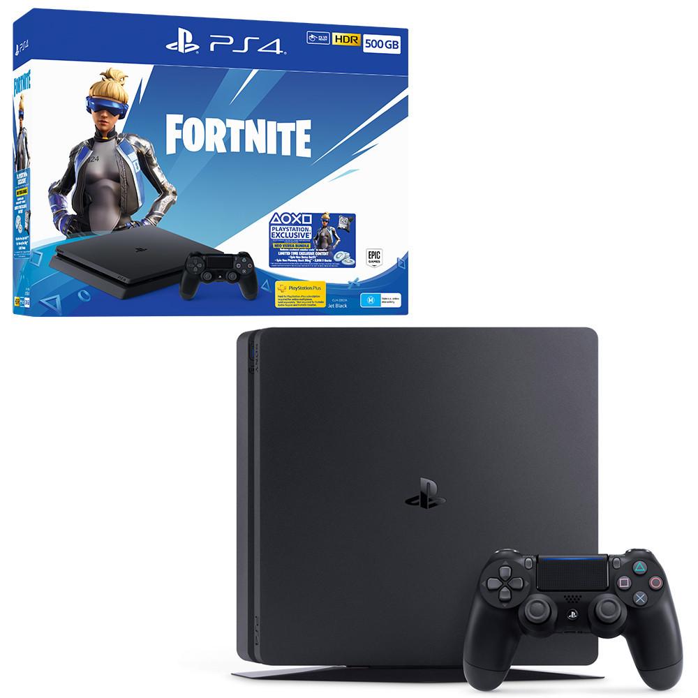 Игровая приставка Sony PlayStation 4 Slim 500 ГБ + дополнительный пакет Fortnite Neo Versa