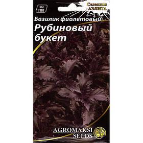 """Семена базилика """"Рубиновый букет"""" (0,3 г) от Agromaksi seeds"""