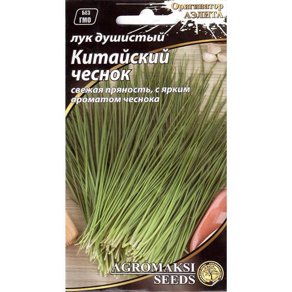 """Насіння цибулі """"Китайський часник"""" (0,5 г) від Agromaksi seeds"""