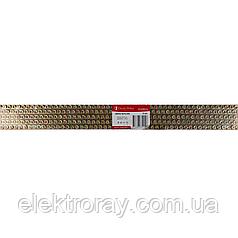 ElectroHouse Шина нулевая 8х12 1 метр