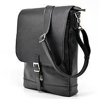 Вертикальная мужская кожаная сумка через плечо GA-1808-4lx бренда Tarwa, фото 1